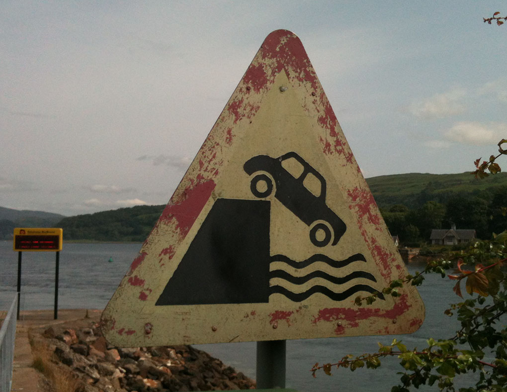 You are absolutely going to die (Morvern, Scotland)